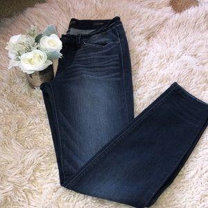 Judy Blue Dark Denim Skinny Fit Jeans